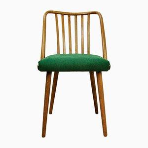 Chaises de Salle à Manger Vertes par Antonin Suman pour Ton, 1960s, Set de 4