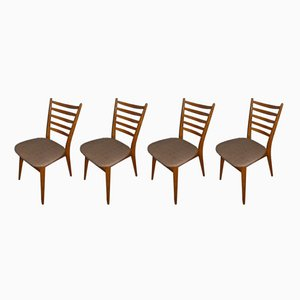 Dining Room Chairs, 1960s, Set of 4
