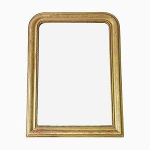 Espejo victoriano antiguo, década de 1890
