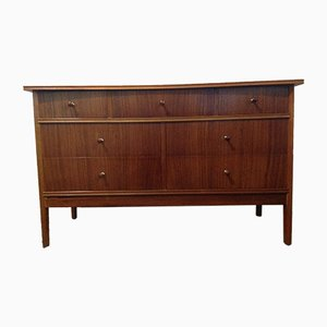 Walnut & Afromosia Dresser by Peter Hayward for Vanson, 1970s