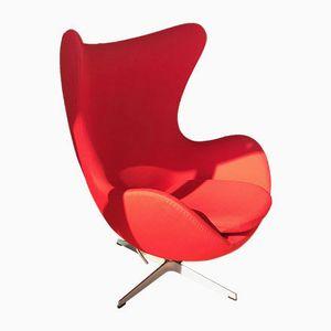 Vintage Egg Chair von Arne Jacobsen für Fritz Hansen