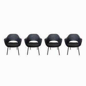 Executive Conference Chairs by Eero Saarinen for Knoll, 1960s, Set of 4