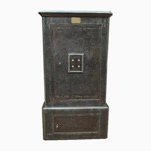 Caja fuerte de hierro y latón de Gruson, década de 1900