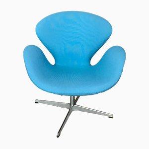 Swan chair vintage di Arne Jacobsen per Fritz Hansen