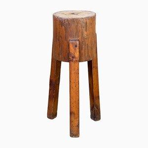 Bloque para cortar trípode de madera, años 60