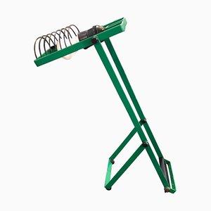 Lámpara de mesa regulable en verde de Ernesto Gismondi para Artemide, 1976