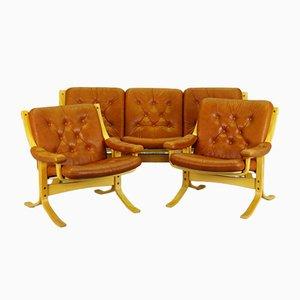 Dänisches Vintage Wohnzimmer Set