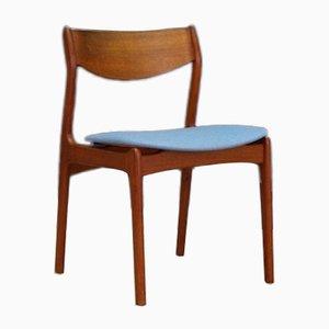 Dänische Mid-Century Stühle aus Teakholz, 4er Set