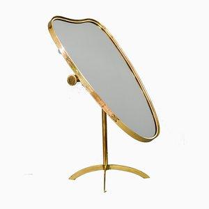 Espejo de mesa de Vereinigte Werkstätten München, años 50
