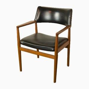 Stuhl aus Teak von Erik Wørts für Sorø Stolefabrik, 1960er