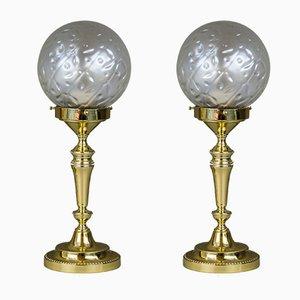Lampes de Bureau Art Déco, 1920s, Set de 2