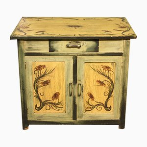 Vintage Hand Painted Sideboard