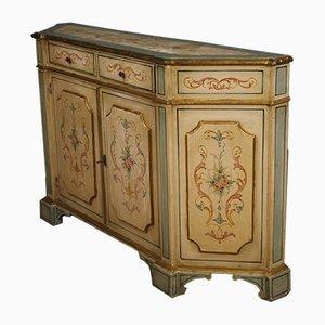 Venetian Gilded Wood Sideboard, 1950s