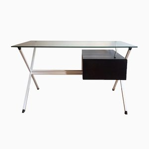 Vintage Floating Desk Bureau by Franco Albini for Knoll, 1950s