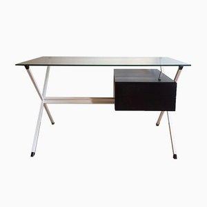 Vintage Schreibtisch in schwebender Optik von Franco Albini für Knoll, 1950er