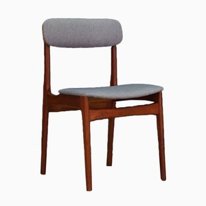 Dänische Vintage Stühle aus Teakholz, 4er Set