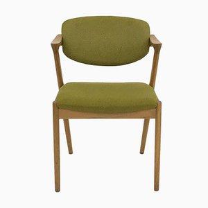 Modell 42 Esszimmerstühle von Kai Kristiansen für Schou Andersen, 1960er, 8er Set