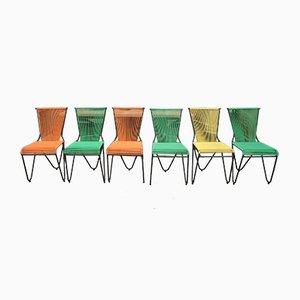 Mid-Century Spaghetti-Stühle, 6er Set