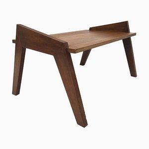 Table Basse Moderniste en Chêne, France, 1950s