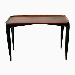Danish Teak Side Table by Willumsen and Engholm for Fritz Hansen, 1950s
