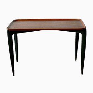 Table d'Appoint en Teck par Willumsen et Engholm pour Fritz Hansen, Danemark, 1950s