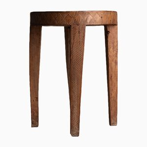 West African Wooden Stool, 1940s