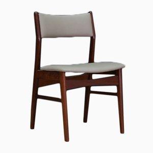 Mid-Century Stühle aus Holz, 5er Set