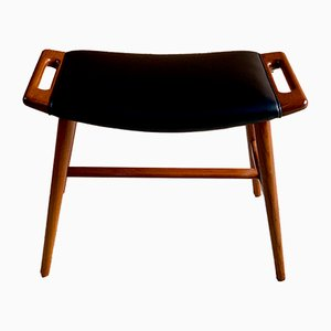 Teak Model AP-30 Piano Stool by Hans J. Wegner for A. P. Stolen, 1960s