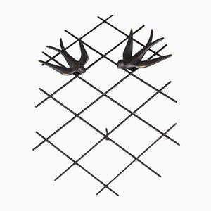 Schlüsselanhänger in Möwen-Optik von Walter Bosse, 1950er