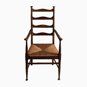 Antiker Armlehnstuhl von EG Punnett für William Birch