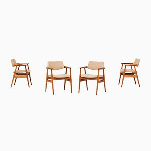 Dining Chairs by Svend Aage Eriksen for Glostrup, 1960s, Set of 4