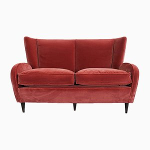 Love Seat Sofa by Paolo Buffa, 1940s