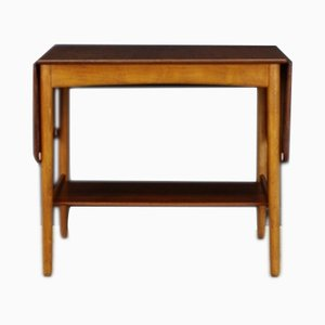 Tavolino da caffè AT32 Mid-Century in teak di Hans J. Wegner per Andreas Tuck, Danimarca