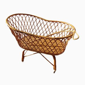 Wicker Crib, 1970s