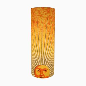 Lámpara de mesa Sun italiana de Barnaba Fornasetti para Antonangeli Illuminazioni, años 90