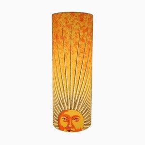 Lampe de Bureau Sun par Barnaba Fornasetti pour Antonangeli Illuminazioni, Italie, 1990s