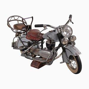 Moto de carrusel belga, años 50