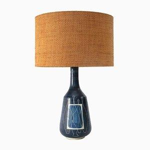 Lámpara italiana Mid-Century de cerámica