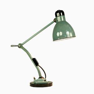 Lámpara de mesa articulada industrial de Kandem Leuchten, años 40