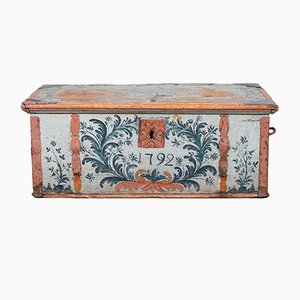 Antique Swedish Chest, 1792