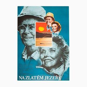 On Golden Pond Filmplakat von Karel Vaca, 1982