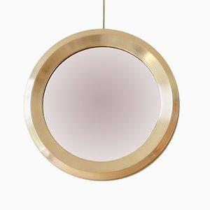 Specchio rotondo di Sergio Mazza per Artemide, anni '60