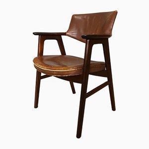 Skandinavischer moderner Stuhl aus Palisander von Erik Kirkegaard für Høng Stolefabrik, 1950er