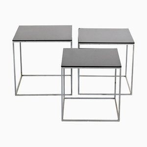 PK71 Nesting Tables by Poul Kjaerholm for E. Kold Christensen, 1960s