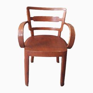 Bent Wood Armchair, 1930s