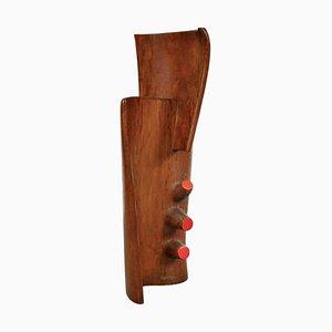Escultura francesa grande de madera, años 50
