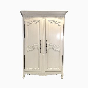 Armoire Style Louis XV Antique en Noyer, France