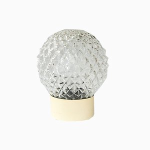 Ball Applique Molded Relief Light, 1960s