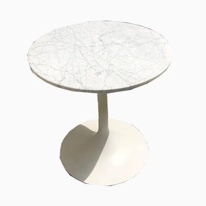 Vintage Marble Side Table, 1970s
