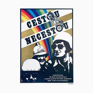 Affiche de Film Errantry par Dobroslav Foll, 1977